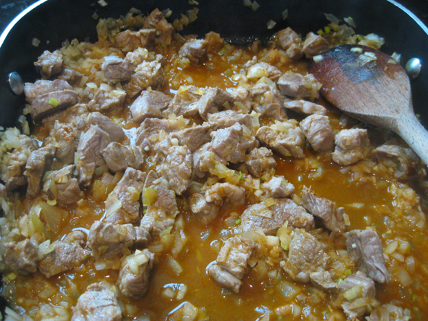 African curried lamb 3