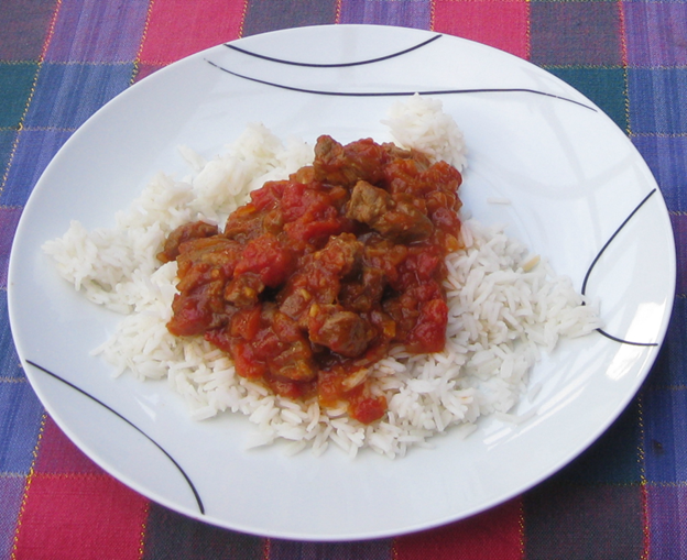 African curried lamb 8