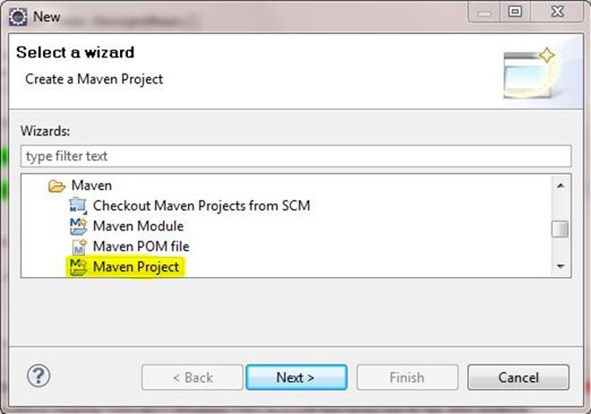 JSF 2.1 project using Eclipse and Maven 2 Image 1